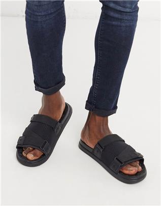 Toms - Travel lite - Sandalen in zwart