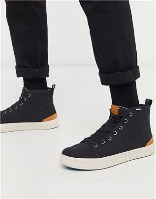 Toms - Hoge sneakers in zwart
