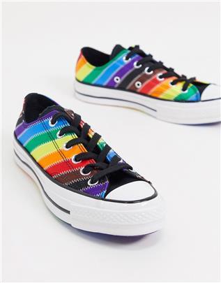 Converse - Chuck 70 - Rainbow pride - Lage sneakers-Multi