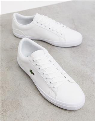 Lacoste - Lerond - Sneakers van wit canvas