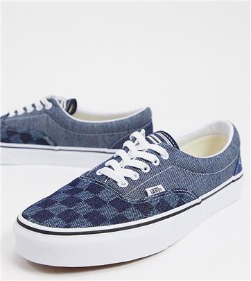 Vans - Era - Sneakers van denim-mix - Exclusief bij ASOS-Blauw