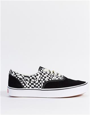 Vans - UA ComfyCush Era - Sneakers in zwart/wit-Multi