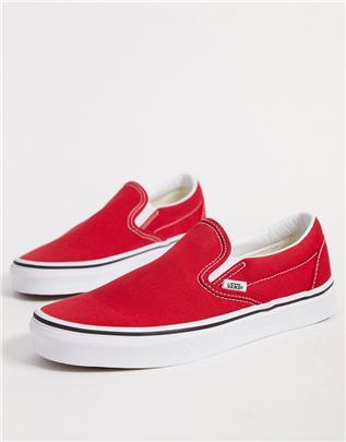 Vans - UA Classic - Instapsneakers in rood