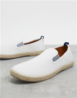 Burton Menswear - Espadrilles in gebroken wit