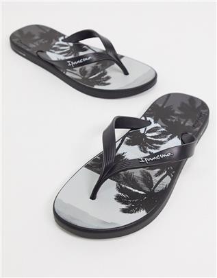 Ipanema - Posto Palm - Teenslippers in zwart