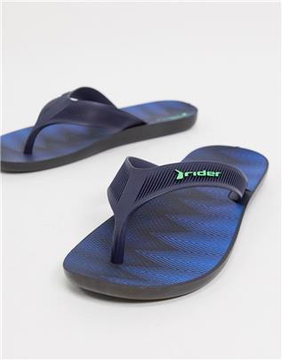 Rider - Strike Plus - Teenslippers in marineblauw