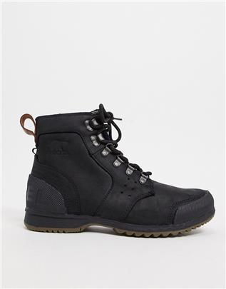 Soel - Ankeny - Wandellaarzen in zwart