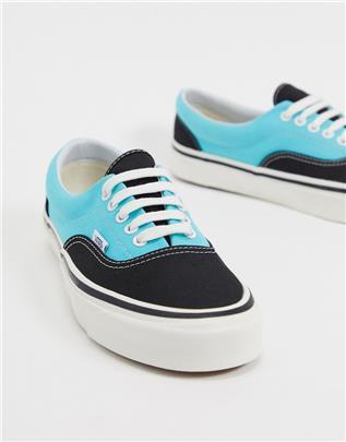 Vans - Era 95 DX - Sneakers in zwart en blauw-Multi