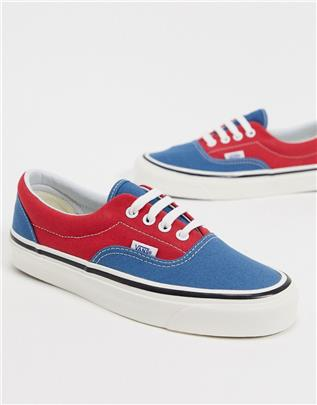 Vans - Era 95 DX - Sneakers in marineblauw-Multi
