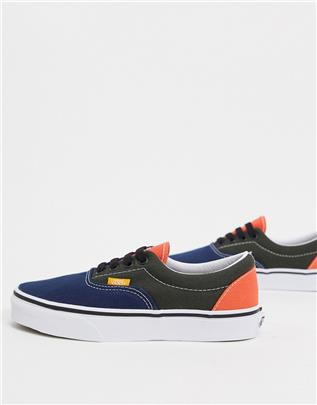 Vans - Era - Sneakers in paars multi-Multikleur