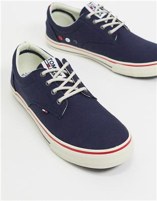 Tommy Hilfiger - Sneakers in marineblauw