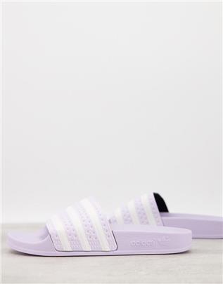 adidas Originals - Adilette - Slippers in lila-Paars