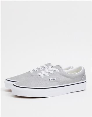Vans - Ua Era - Sneakers in zilver en echt wit