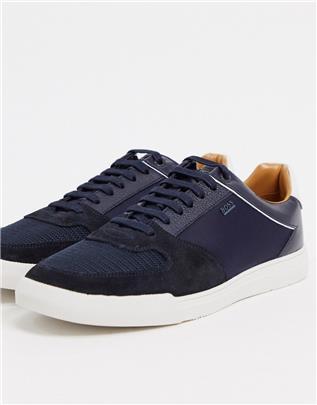 BOSS - Cosmopool - Sneakers-Blauw
