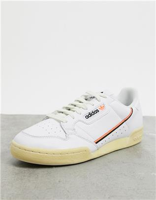 adidas Originals - Continental 80 - Sneakers in wit