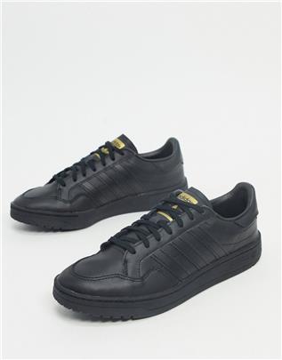 adidas Originals - Team Court - Sneakers in zwart
