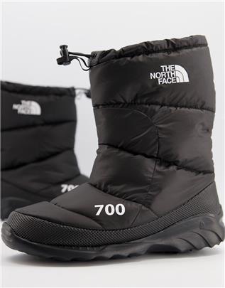 The North Face - Nuptse 700 - Laarzen in zwart