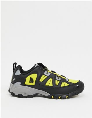 The North Face - Steep Tech Fire Road - Sneakers in geel/zwart
