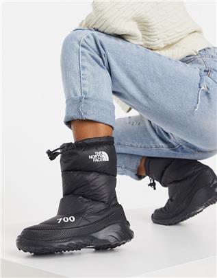 The North Face - 700 Nuptse - Laarzen in zwart