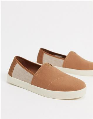 Toms - Avalon - Espadrilles in toffee-Bruin