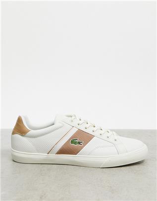 Lacoste - Fairlead - Sneakers in wit