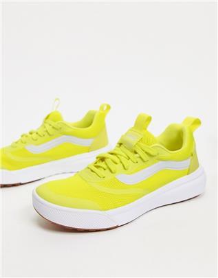 Vans - Ultra Range - Sneakers met rubberen zool in geel