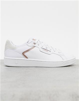 K-Swiss - Clean Court II CMF - Sneakers in wit
