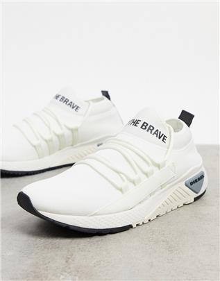 Diesel - S-KB - Sneakers-Wit