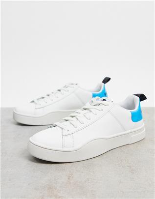 Diesel - S-clever - Lage sneakers-Wit