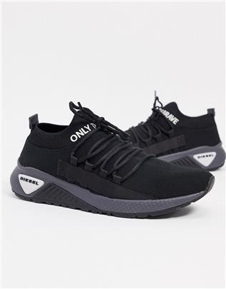 Diesel - S-KB - Sneakers-Zwart