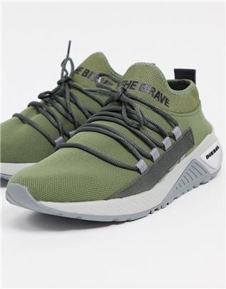 Diesel - S-KB - Sneakers-Groen