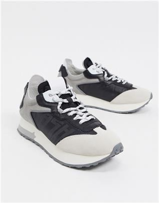 Ash - Tiger - Hardloopschoenen in mix van grijs en zwart