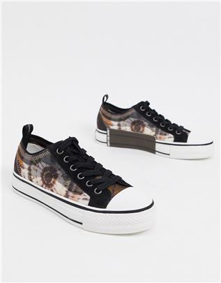 Ash - Vertu - Sneakers in bloemenprint-Multikleur