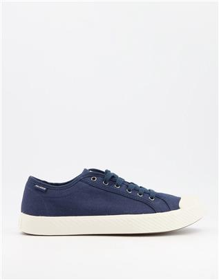 Palladium - Pallaphoenix - Sneakers in indigo-Zwart