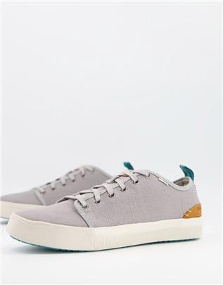 TOMS - Trvl Lite - Sneakers met veters in grijs