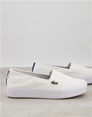 Lacoste - Plus - Marice Grand - Instapgympen in wit