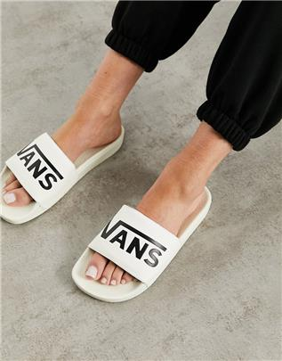 Vans - Slippers in wit