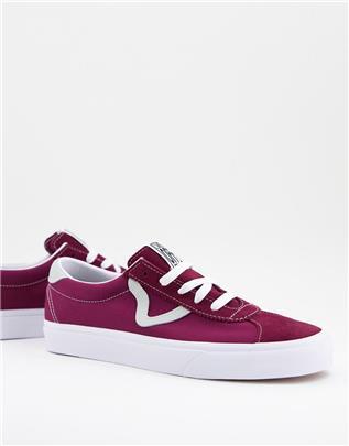 Vans Classic - Sport - Sneakers in bordeauxrood-Paars