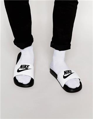 Nike - Benassi JDI - Instap slippers 343880-100-Zwart