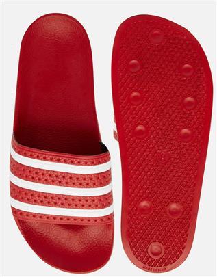 adidas Originals - Adilette - Slippers 288193-Rood