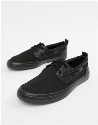 ASOS DESIGN - Bootschoenen in zwart