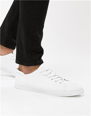 ASOS DESIGN - Sneakers in wit met teenstuk