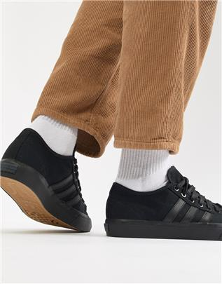 adidas Skateboarding - Matchcourt RX Sneakers in zwart BY3536