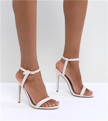Missguided - Exclusieve minimalistische sandalen met hak-Neutraal