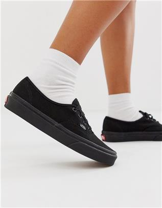 Vans Authentic - Sneakers in zwart