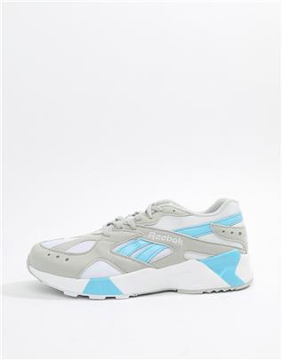 Reebok - Aztrek - Jaren 90 sneakers in grijs CN7473
