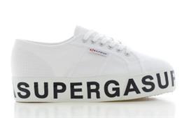 Superga Platform Wit Dames