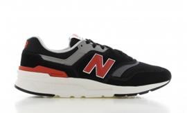 New Balance CM997 Zwart/Rood
